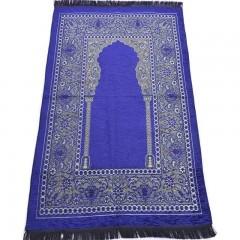Коврик для молитвы Velvet Sajda 66x112 Темно-синий