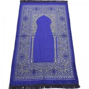 Коврик для молитвы Velvet Темно-синий