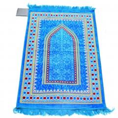 Коврик для намаза Михраб Sajda 69x116 Голубой