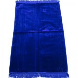 Коврик для намаза без узора Плотный Синий