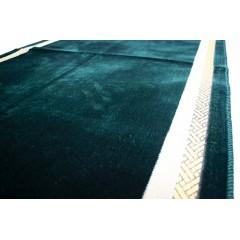 Коврик для намаза Кааба в рамке Sajda 67x110 Зеленый