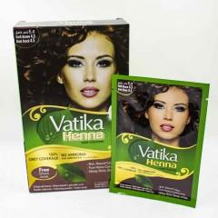Vatika Хна Dark Brown для волос Темно-коричневый 4.5