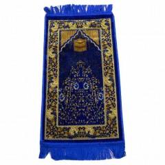 Коврик для намаза детский Кааба Child Sajda 33x60 Синий