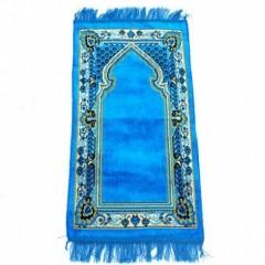 Коврик для намаза детский Child Алтарь Sajda 40x78 Голубой