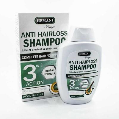 Шампунь от выпадения волос Anti Hair Loss Shampoo Hemani 300 мл