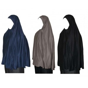 Хиджаб амира цельная с подбородком 3XL Kureysh