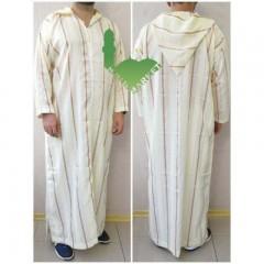 Марокканская рубаха (камис) с капюшоном