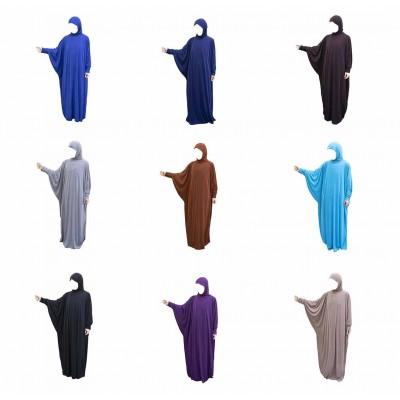 Платье для намаза цельное (микс)
