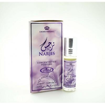 Арабские масляные духи Al-Rehab Narjis Al-Rehab 6 мл 103122