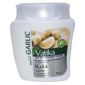 Маска для волос с чесноком от выпадения волос Vatika 500 гр