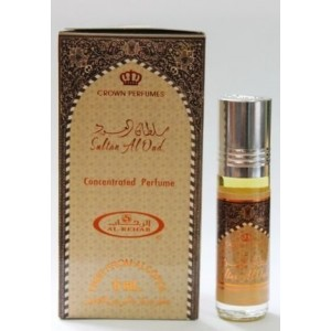Арабские масляные духи al Rehab Sultan al oud 6 мл