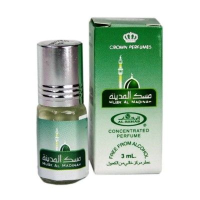 Арабские масляные духи Al-Rehab Musk al Madinah 3 мл 100987