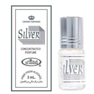 Арабские масляные духи al Rehab Silver 3 ml