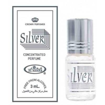 Арабские масляные духи Al-Rehab Silver 3 мл 100991