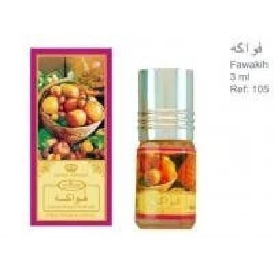 Арабские масляные духи Al-Rehab Fruit 3 мл 101037