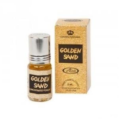 Арабские масляные духи Al-Rehab Golden Sand 3 мл 101040