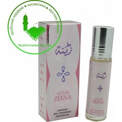 Арабские масляные духи Ard Al Zaafaran Attar Zeena 10 мл 102088
