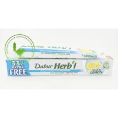 Зубная паста Dabur отбеливающая. Соль и лимон 80 г