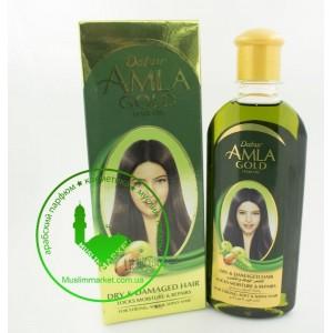 Масло для волоc Amla Gold Dabur 200 мл