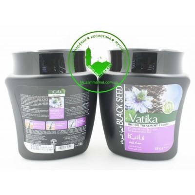 Маска для волос с черным тмином Vatika 500 гр