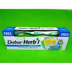 Зубная паста отбеливающая. Соль и лимон 150 г