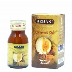 Кокосовое масло Hemani 30 ml в стекл.флаконе