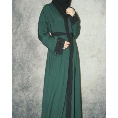 Abaya green (S)