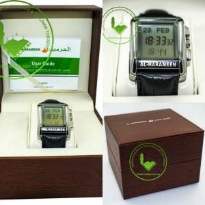 Мужские часы Al Harameen HA-6208 (кож ремешек)