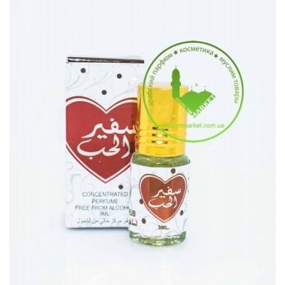 Арабские масляные духи Ard Al Zaafaran Safeer al Hub 3 мл 102464