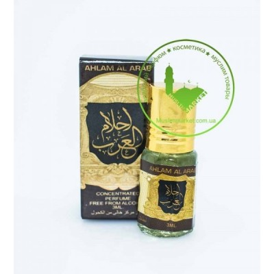Арабские масляные духи Ard Al Zaafaran Ahlam al Arab 3 мл 102465