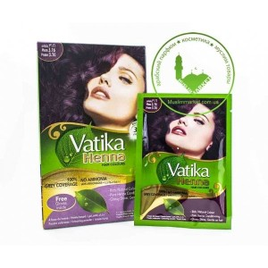 Vatika Henna Plum Хна для волос (сливовый) 3.16
