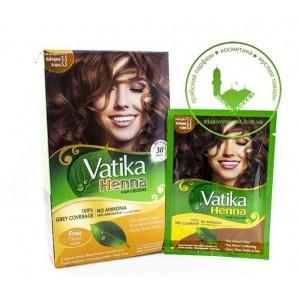 Vatika Henna Хна для волос Махагон (шатен)5.5