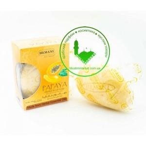 Мыло скраб Папайя Hemani Papaya scrub 120 гр