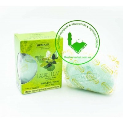 Мыло Лавровый лист Hemani Laurel Leaf 120 гр