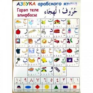 "Плакат ""Азбука арабского языка"""
