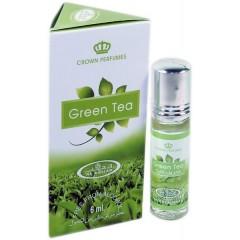 Арабские масляные духи Al-Rehab Green Tea 6 мл