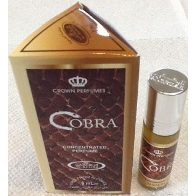 Арабские масляные духи Al-Rehab Cobra 6 мл 100293