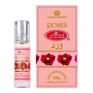 Арабские масляные духи al Rehab Roses 6 ml