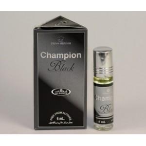 Арабские масляные духи al Rehab Champione black 6 мл