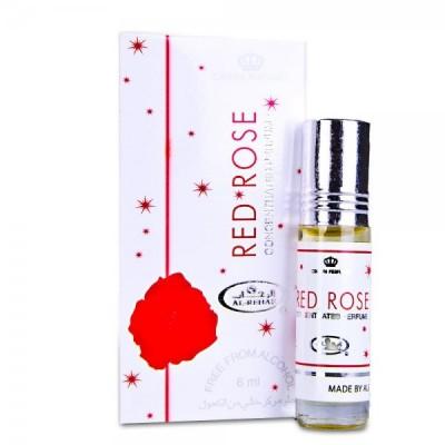Арабские масляные духи Al-Rehab Red Rose 6 мл 100506