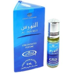Арабские масляные духи al Rehab Al-nourus синий 6 мл